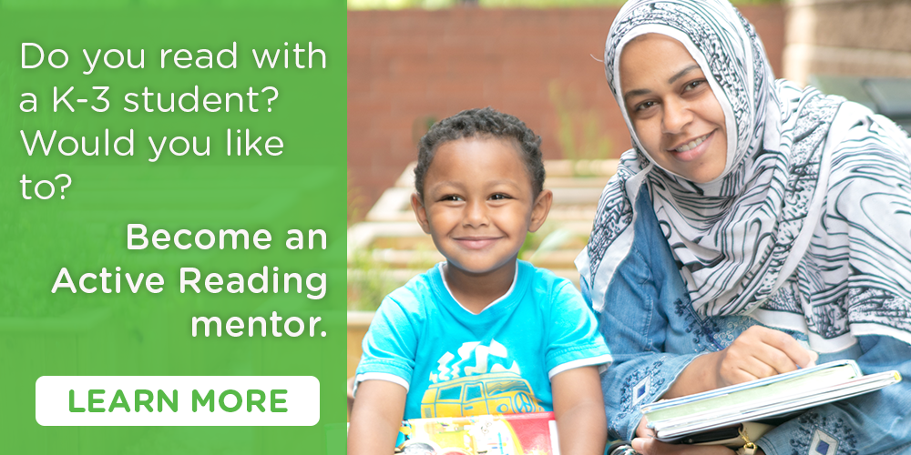 Sign up to become an active reading mentor here.