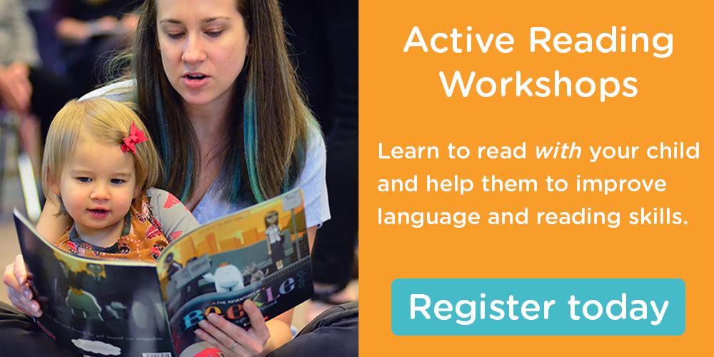 Register for Active Reading workshops. See the calendar here.