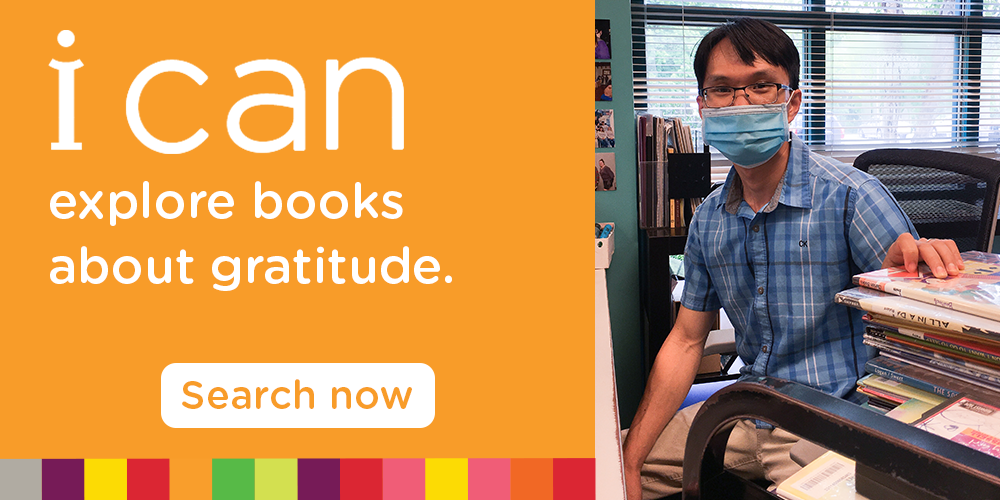 Express gratitude with grateful reads from the Library.