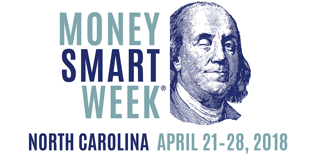 Charlotte Mecklenburg Library is joining libraries and financial institutions across the country in Money Smart Week, April 21-28, 2018, with the aim of helping everyone get smart about their personal finances.