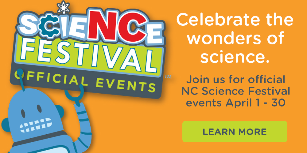 Celebrate the wonders of Science at the Library!