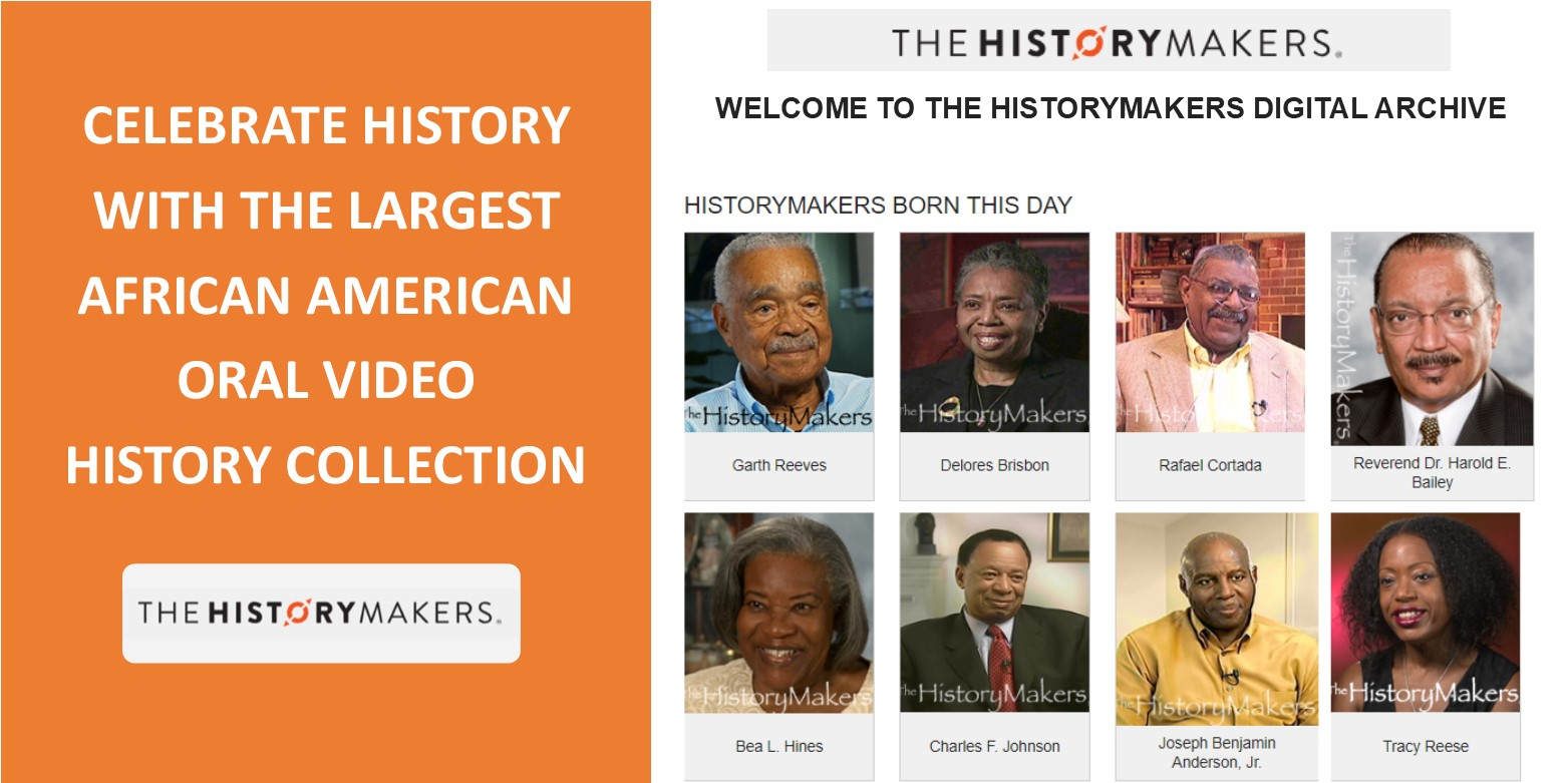 Celebrate African American History with the largest video oral history collection!