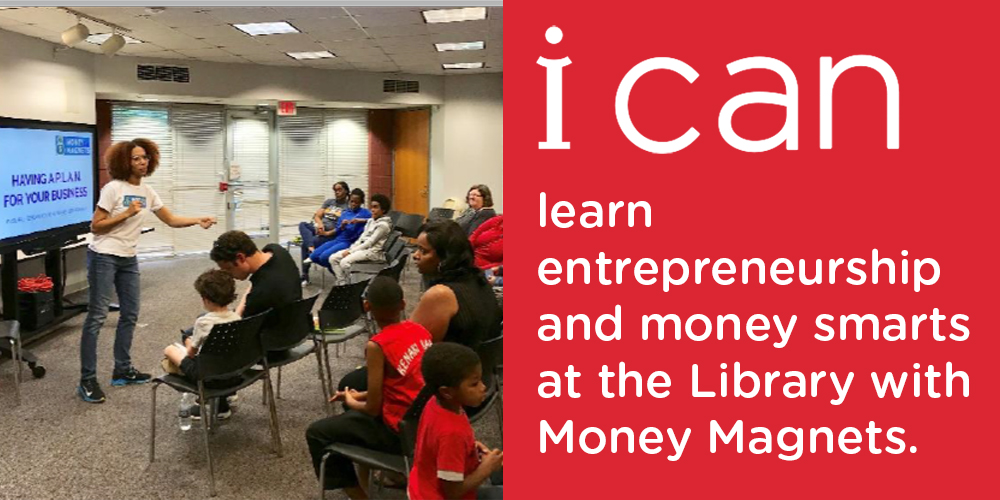 Foster young entrepreneurship through the Money Magnets Club.