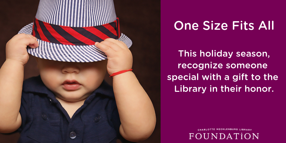 This holiday season, recognize someone special with a gift to the Library in their honor.
