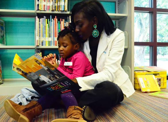 """Join the Library for an  """"i can"""" read Black stories storytime program for Día."""