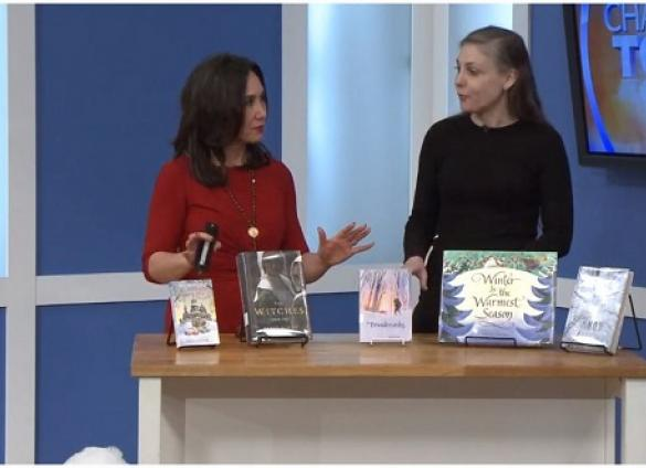 Dana Eure suggests titles with a chilly theme on WCNC's Charlotte Today in December