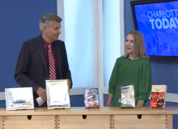 Charlotte Mecklenburg Library's Children's Services Leader, Jesse Isley, shares six back-to-school titles for kids, teens and adults.