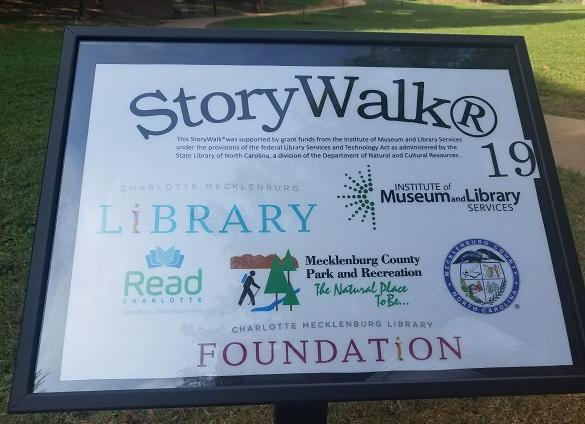 Branded StoryWalks display panel
