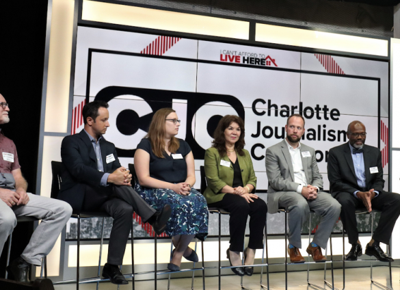 """The Charlotte Journalism Collaboration will host a two-part, virtual program, including a watch party and community conversation for """"Black South Rising"""" in June-July 2020."""