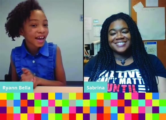 This series inspires students to get involved by celebrating the voices and accomplishments of young Black women who are active in civic engagement locally. In our first segment, photography is explored as a form of civic engagement that kids can particip