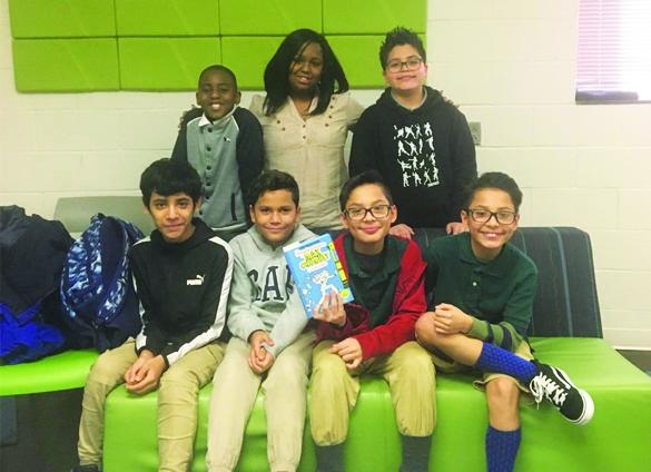 Reading in Color with Charlotte Mecklenburg Library.