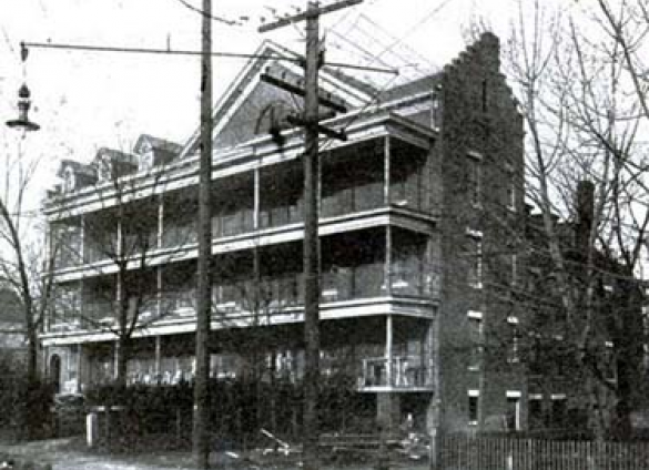 Charlotte Mecklenburg Library's Robinson-Spangler Carolina Room takes a historical look into the evolution of St. Peter's Hospital.
