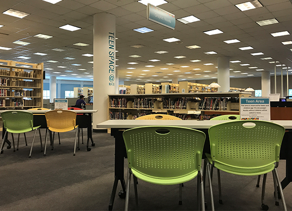 Teens are invited to visit Main Library this summer