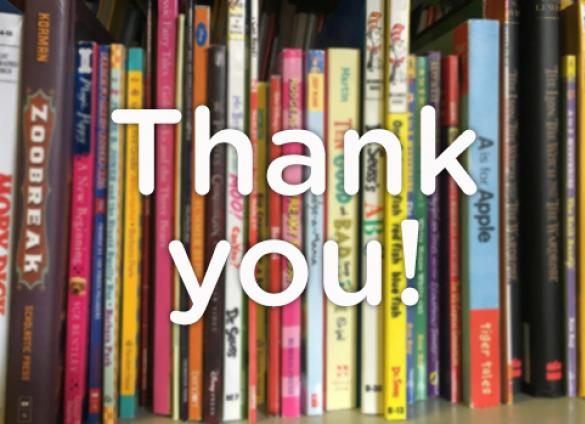Thank you to all of you who so generously donated to the 2018 64U Books for Kids book driveand made this year another success!