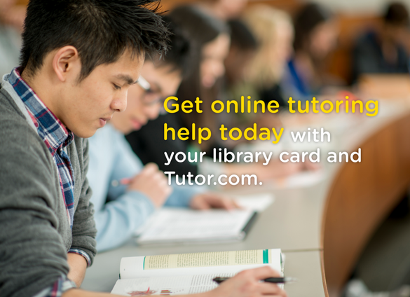 tutor.com, online learning, library, cmlibrary