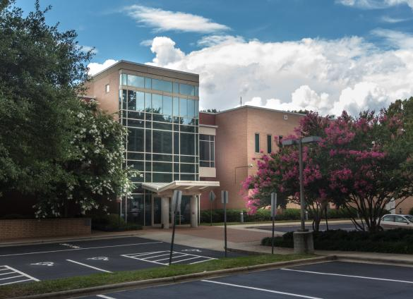 Charlotte Mecklenburg Library's South County Regional Library location is currently closed for renovations.