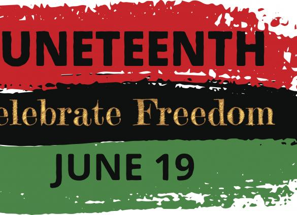 Juneteenth is the day commemorating the freedom of the last slaves in the United States.