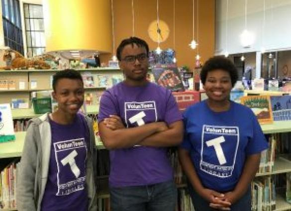 VolunTeens of the Charlotte Mecklenburg Library help make their communities brighter.