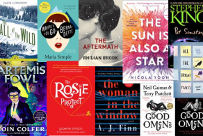 Books hitting the screen in 2019