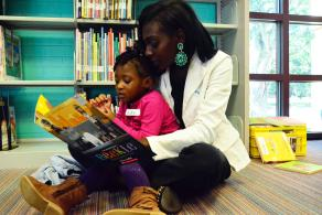"Join the Library for an  ""i can"" read Black stories storytime program for Día."