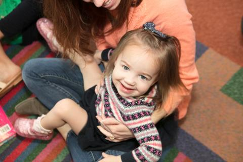 Charlotte Mecklenburg Library's Spangler Library at ImaginOn adds a new Monday Baby Storytime option for families.