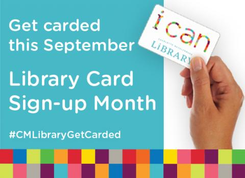 Get carded. Don't wait another moment to sign up for a Charlotte Mecklenburg Library card and discover a world of possibilities.