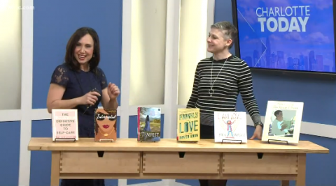 """Charlotte Mecklenburg Library's Branch Channel Leader and Interim Director of Libraries, Dana Eure, discussed six  titles that moved from print to the big screen with """"Books to Movies"""" on WCNC's Charlotte Today."""