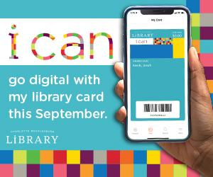 Access a world of possibilities this September during Library Card Sign-up Month