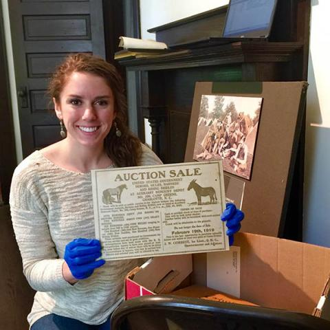 The Robinson-Spangler Carolina Room adds to its WWI Archives