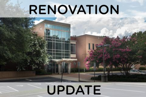 Photo of Charlotte Meckleburg Library's South County Regional Library location prior to its 2019 closure for renovation.