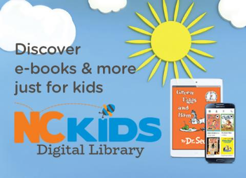 Discover e-books and more just for kids with NC Digital Library