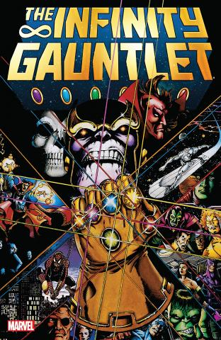 Thanos with the Infinity Gauntlet