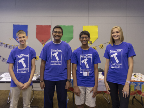 VolunTeens from the Charlotte Mecklenburg Library gain skills imperative to their future.